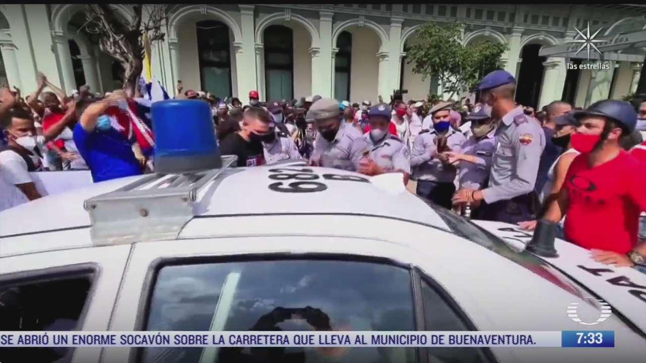 denuncian arrestos y desapariciones tras las manifestaciones en cuba