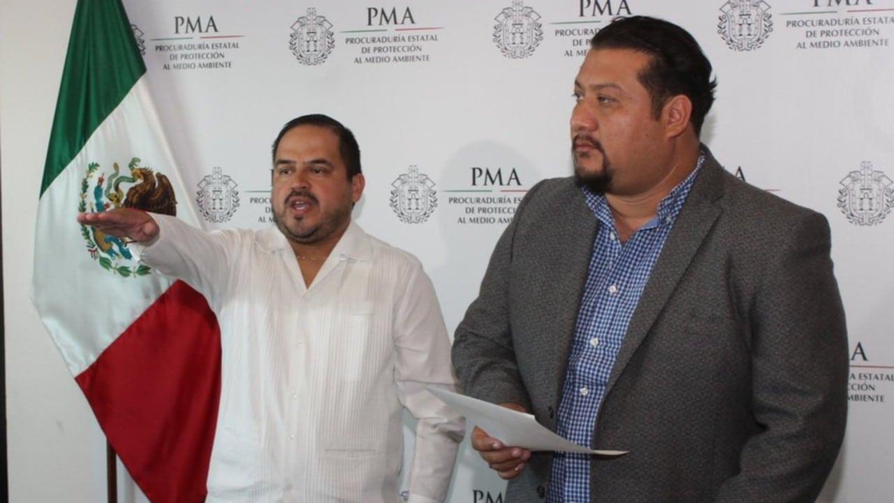 Ernesto Cuevas Hernández, subprocurador del Medio Ambiente de Veracruz