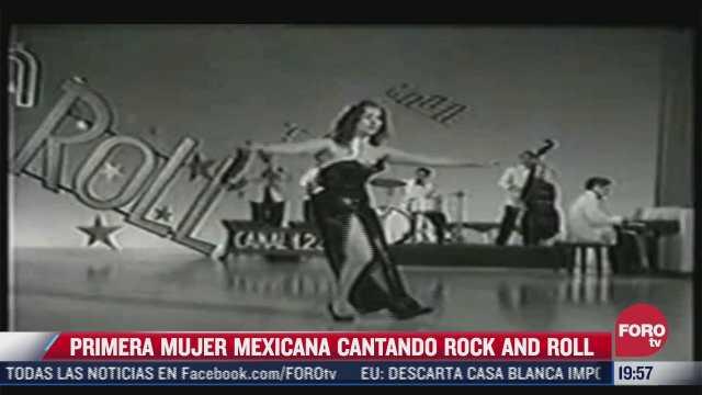 esta es la primera cancion de rock and roll mexicano cantado por una mujer