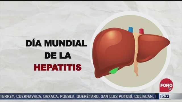 este 28 de julio se conmemora el dia mundial de la hepatitis