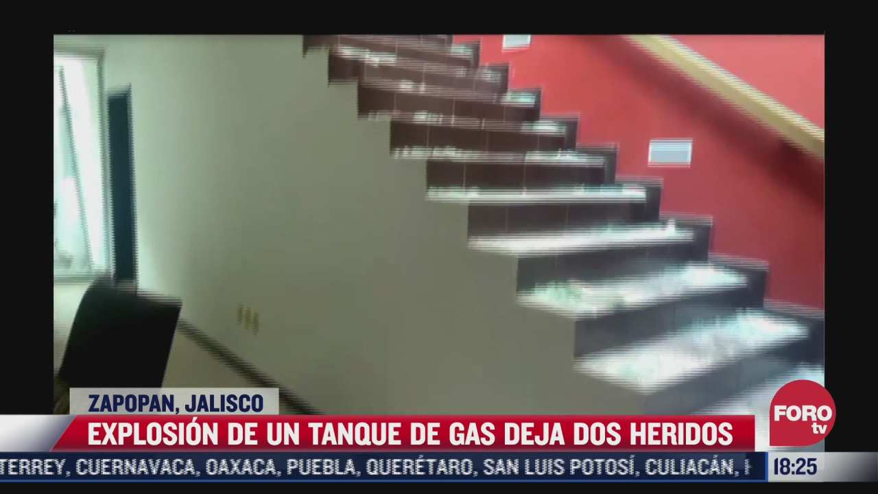 explota tanque de gas al interior de domicilio de zapopan
