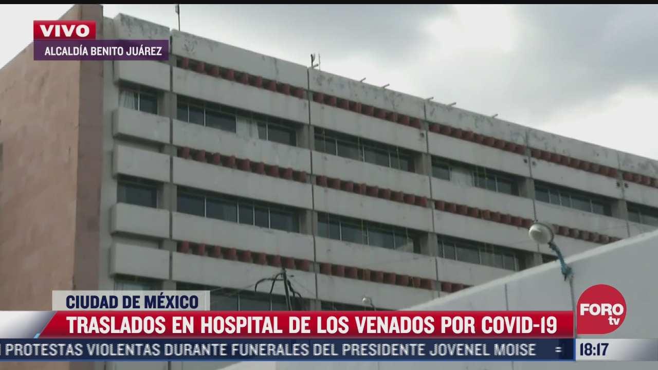 hospital parque de los venados podria ser100 covid