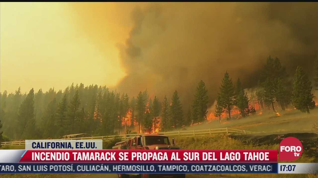 incendio se propaga en california eeuu