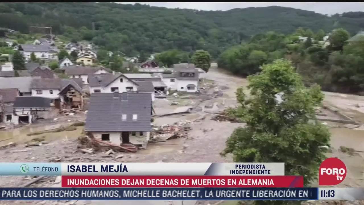inundaciones dejan decenas de muertos en alemania