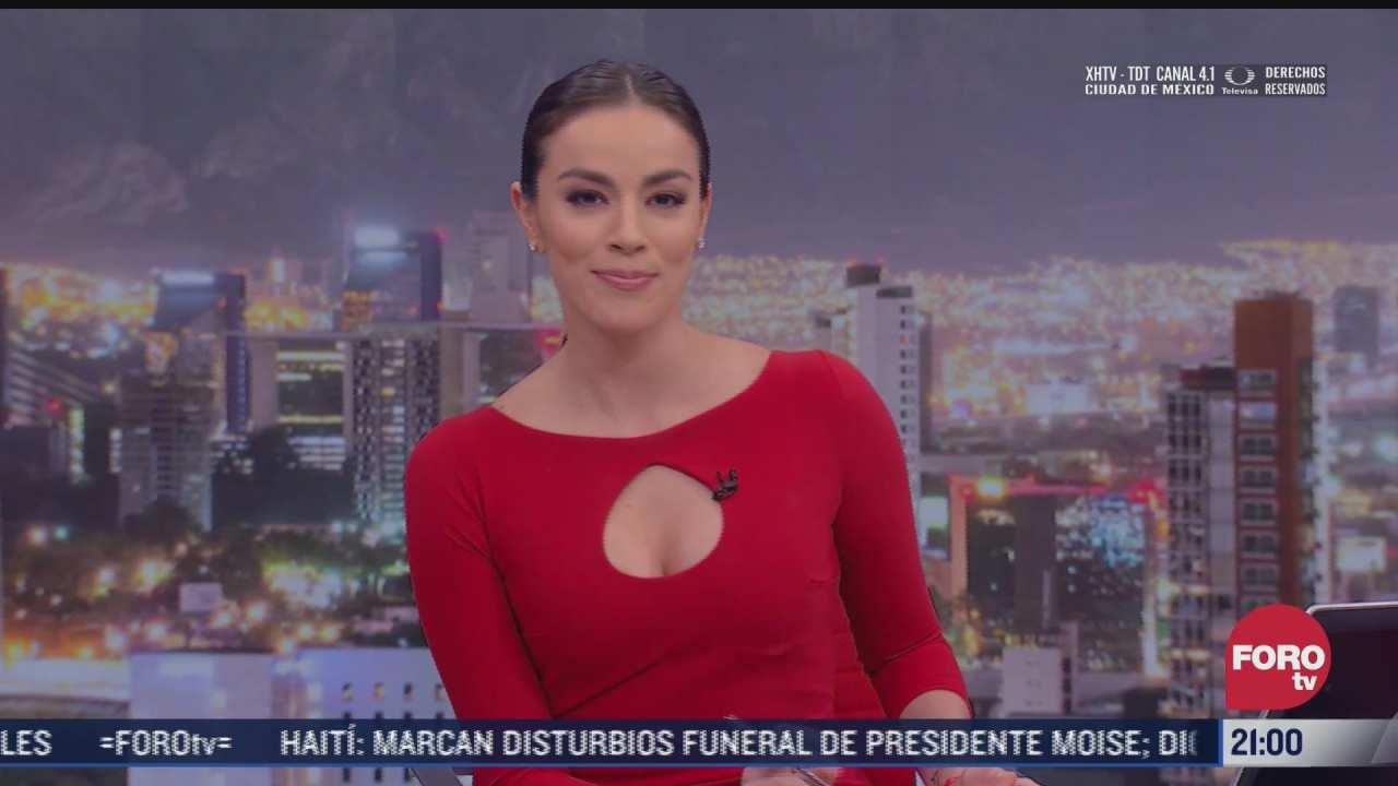 las noticias con ana francisca vega programa del 23 de julio de