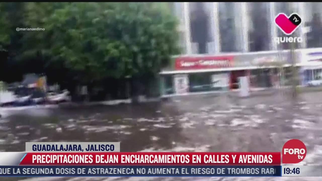 lluvias causan inundaciones en coahuila jalisco y tamaulipas