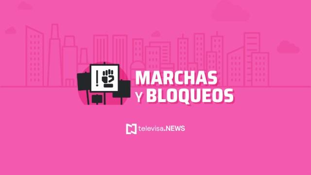 Autoridades de la Ciudad de México informaron que este sábado habrá varias marchas en la capital del país.
