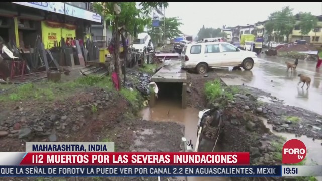 mueren mas de 100 personas a causa de las inundaciones registradas en india