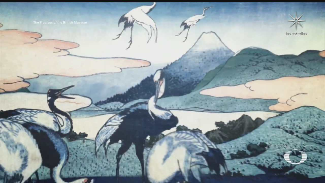 museo britanico expone obras del pintor japones katsushika hokusai en linea