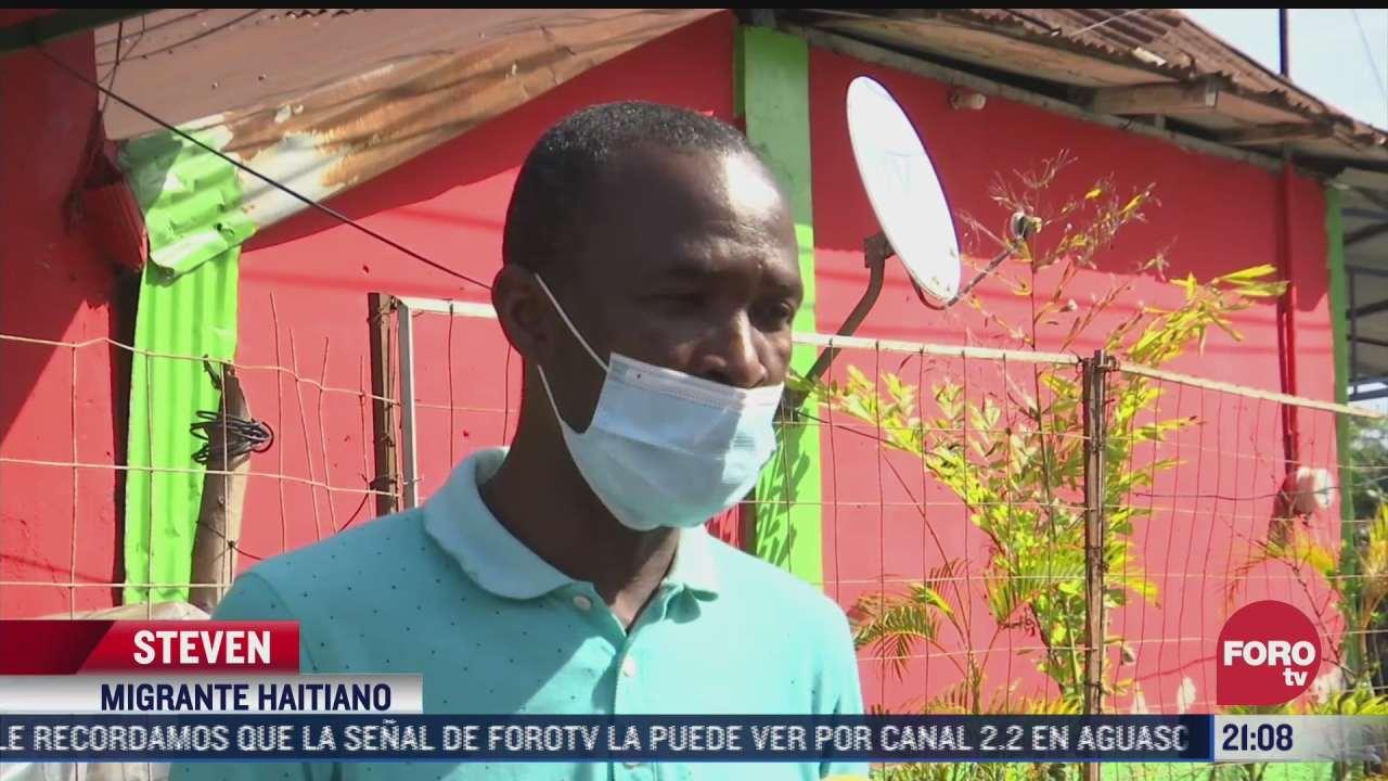 operativo en chiapas para evitar contagios entre migrantes