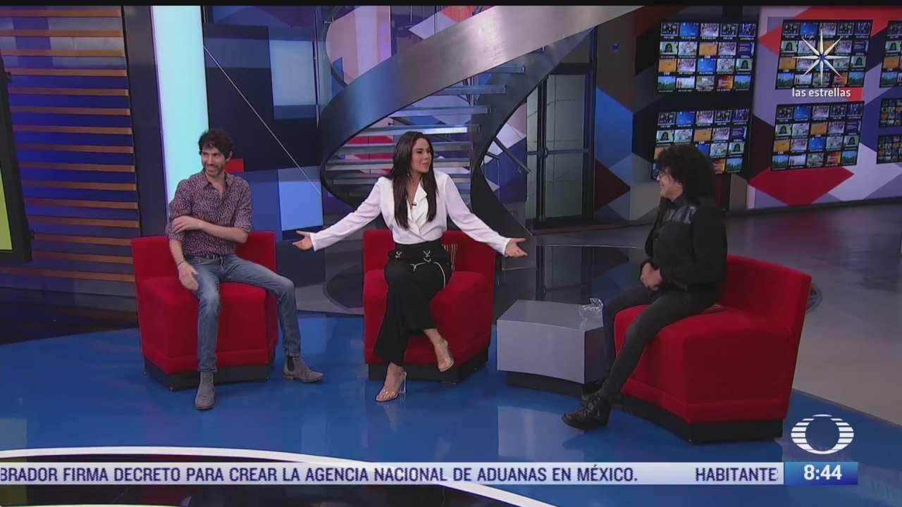 paola rojas entrevista a benny ibarra y laureano brizuela sobre nuevo sencillo