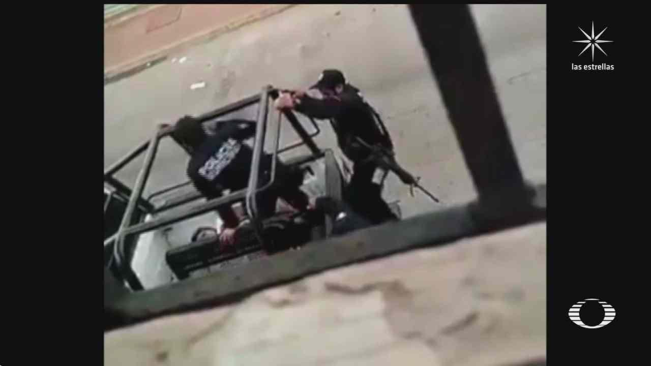 policias golpean brutalmente a mujer en cardenas tabasco