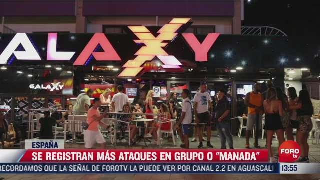 se incrementan agresiones en grupo en espana