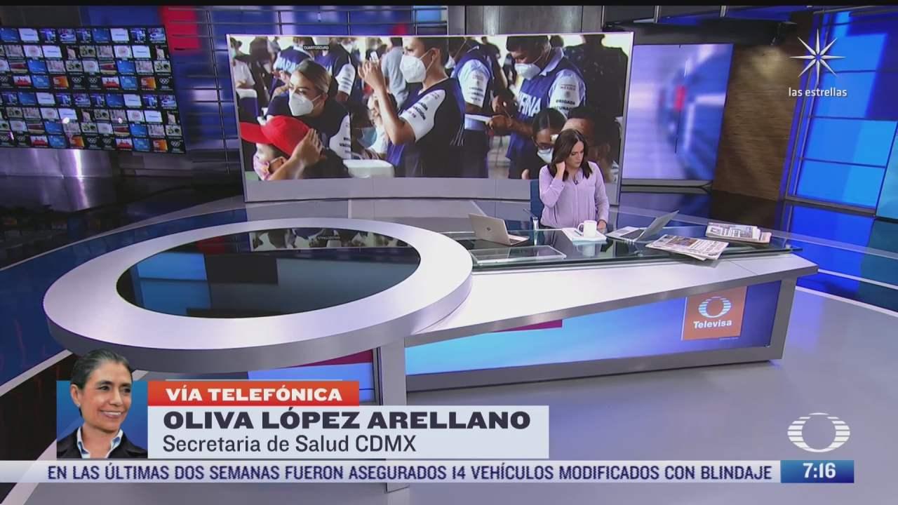 Entrevista con Oliva López Arellano, secretaria de Salud de la CDMX, para Despierta