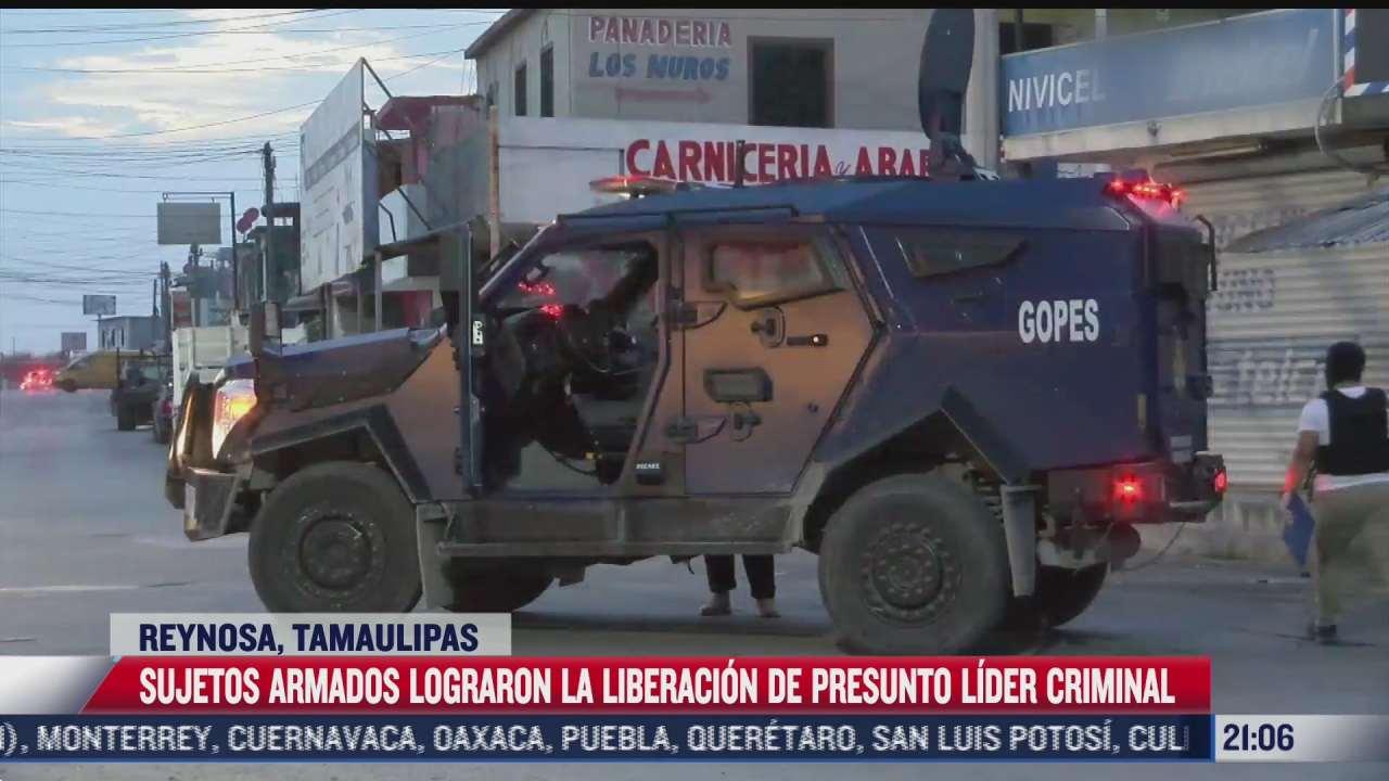 sujetos armados liberan a el calamardo en tamaulipas