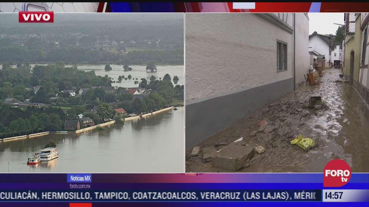 suman 106 muertos por inundaciones en alemania