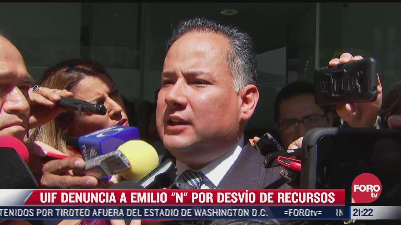 uif denuncia al ex director de pemex por desvio de recursos