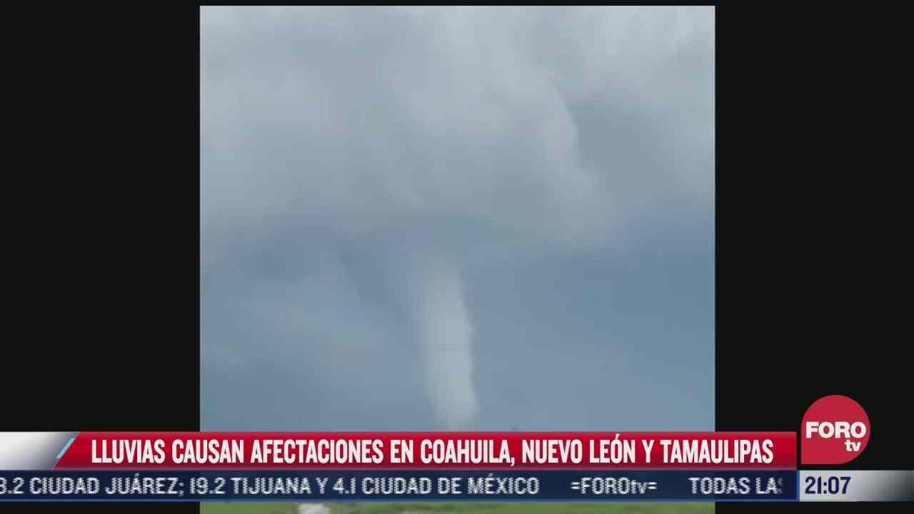video captan impresionante tornado en reynosa tamaulipas