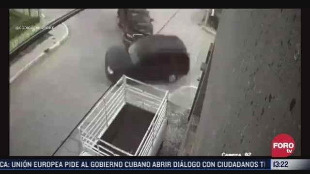 video chocan camionetas con sujetos armados en reynosa tamaulipas