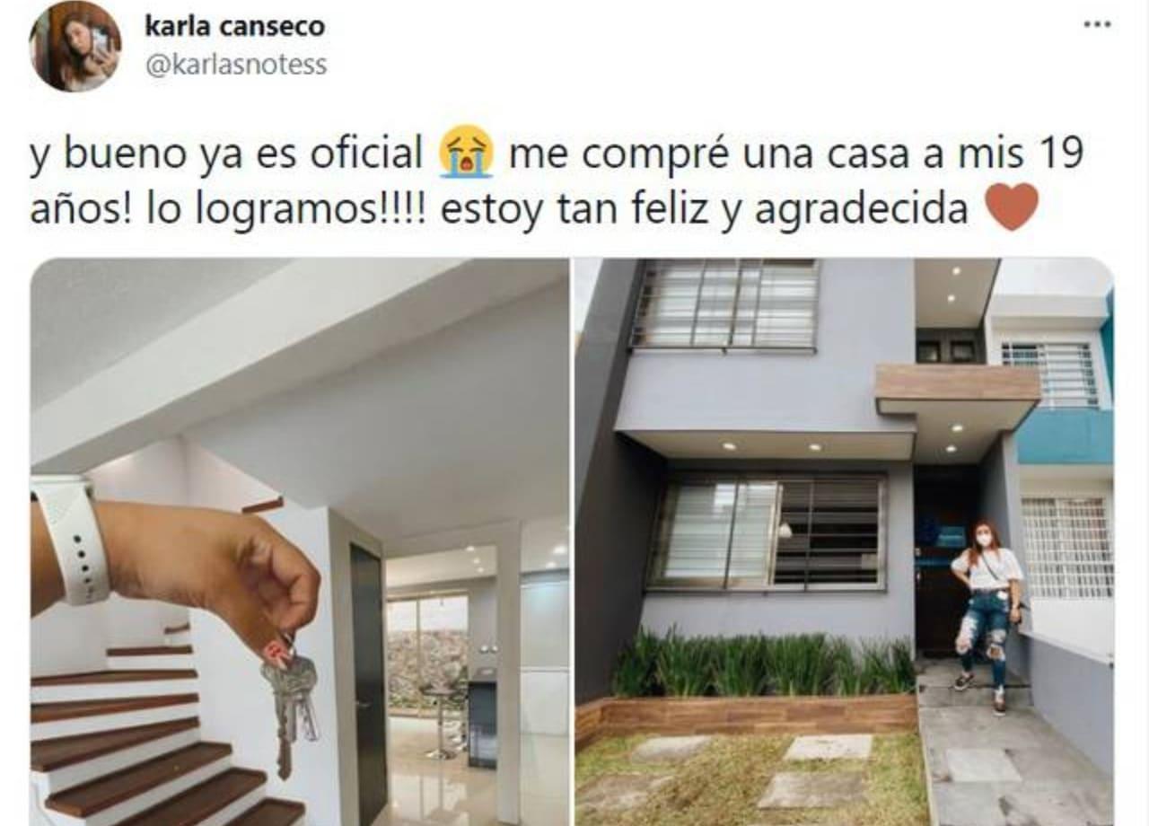 Youtuber compra 'la casa de sus sueños' a sus 19 años