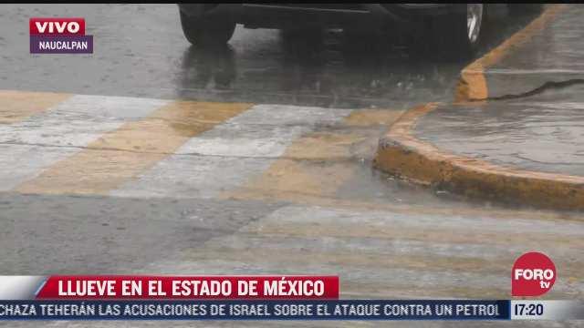 alerta por lluvias en todas las alcaldias de la cdmx