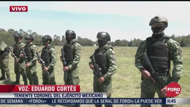 asi practican tiro los elementos del ejercito mexicano