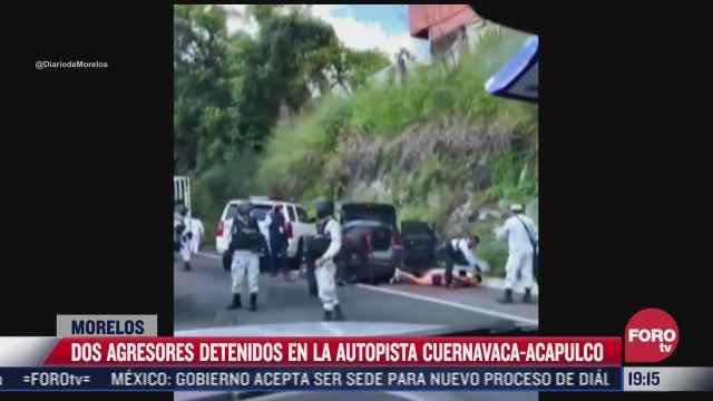 atacan convoy de fiscal del estado de morelos hay dos heridos