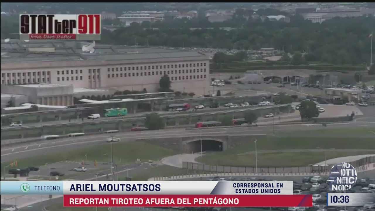 cierran pentagono por tiroteo ocurrido cerca de las instalaciones