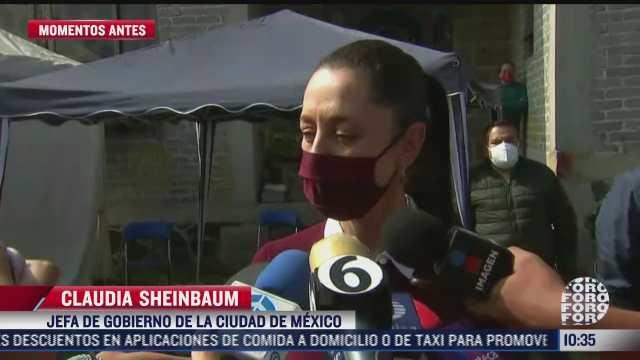 claudia sheinbaum llama a la ciudadania a acudir a mesas receptoras por consulta popular