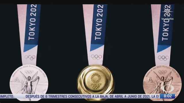 como hicieron las medallas de los juegos olimpicos de tokyo