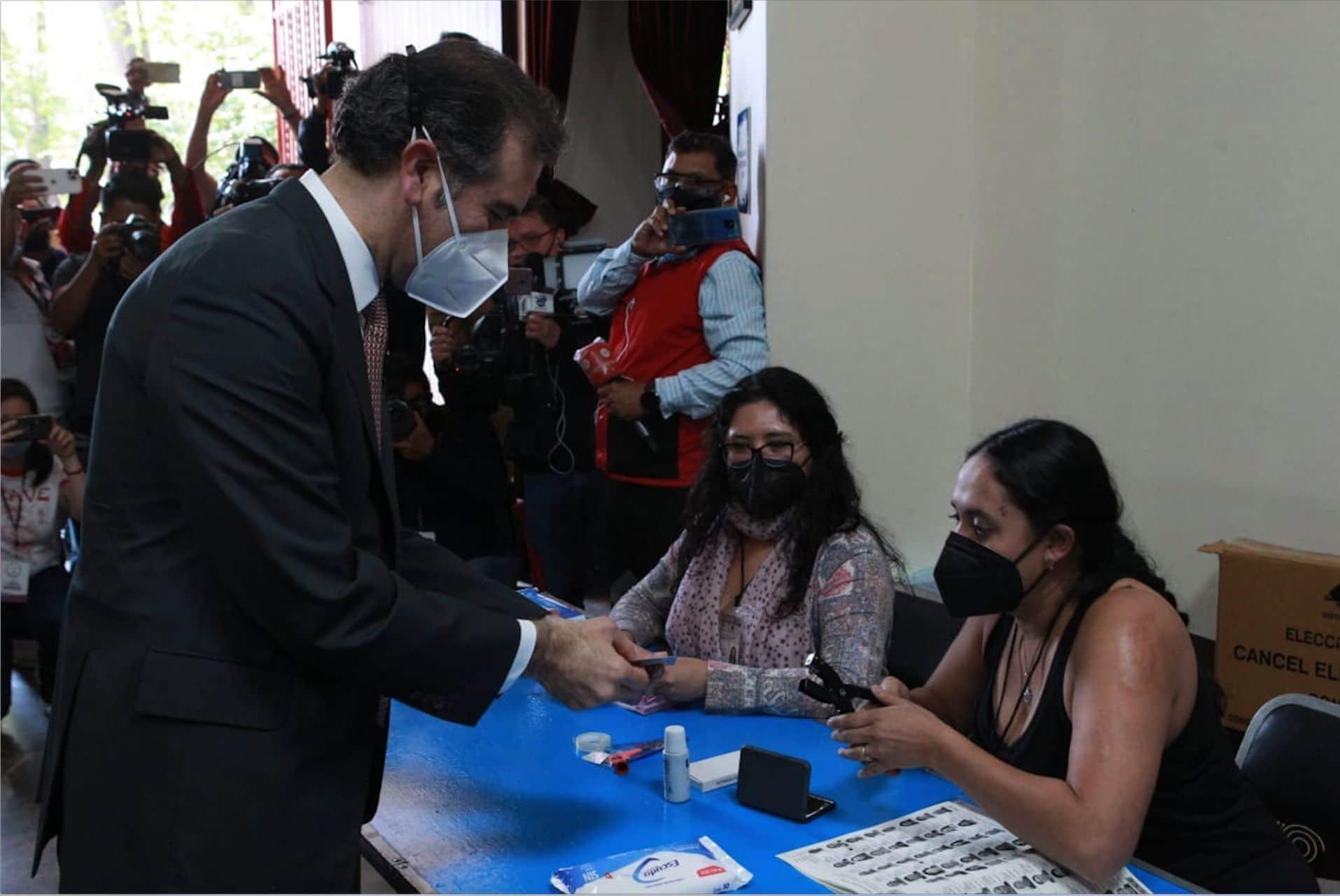 Consulta Popular 2021 Voto Lorenzo Córdova