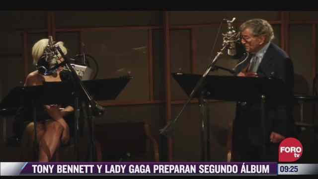 espectaculosenexpreso tony bennett y lady gaga preparan segundo album