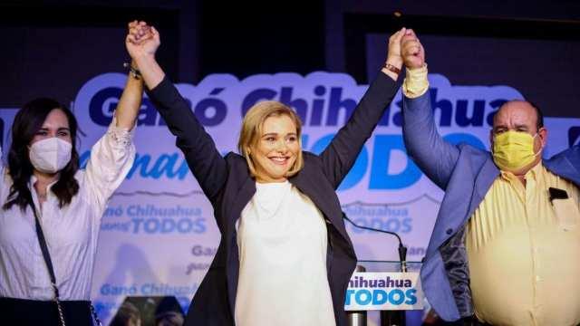Hospitalizan a Maru Campos, gobernadora electa de Chihuahua, por COVID-19