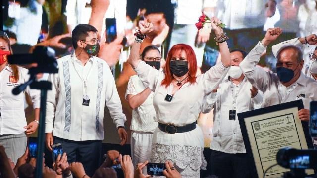 Tribunal Electoral de Campeche durante entrega de constancia como gobernadora electa de Campeche a Layda Sansores (Cuartoscuro)