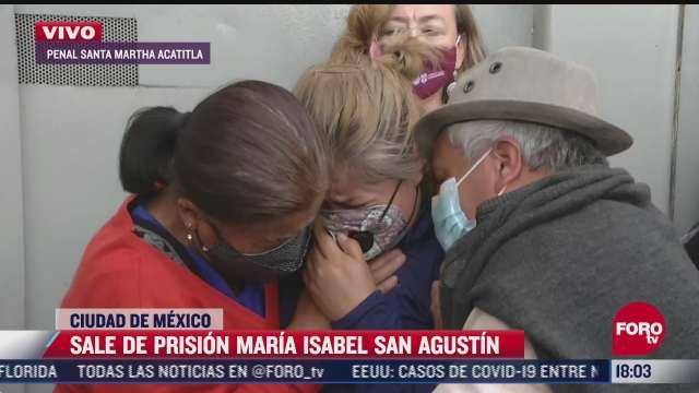 liberan a maria isabel san agustin victima de tortura en la cdmx