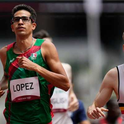 El mexicano 'Tona' López queda eliminado en semifinales de 800 metros en Juegos Olímpicos de Tokio 2020