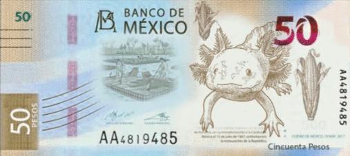 Diseño no oficial de nuevo billete de 50 pesos
