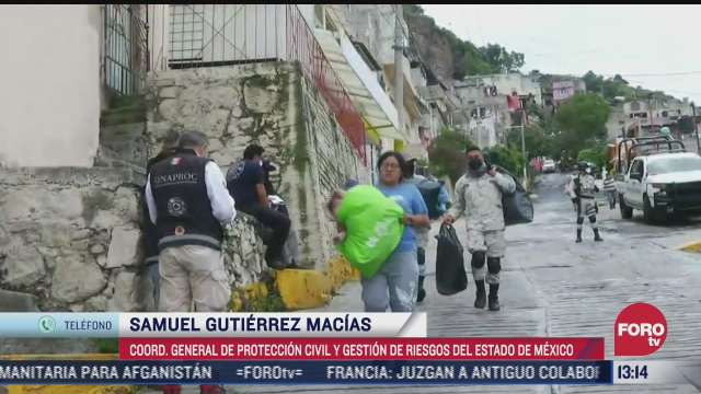 136 viviendas notificadas ante nuevos riesgos de derrumbe en cerro del chiquihuite