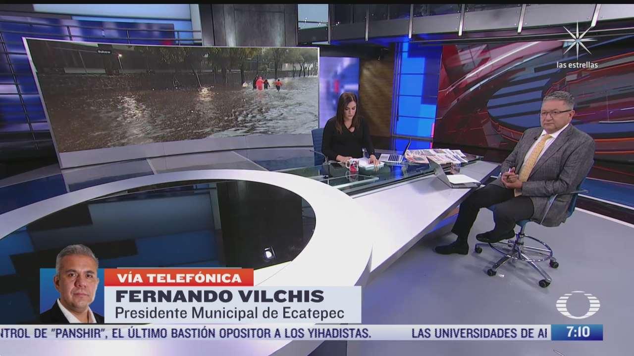 Entrevista con Fernando Vilchis, presidente municipal de Ecatepec, para Despierta