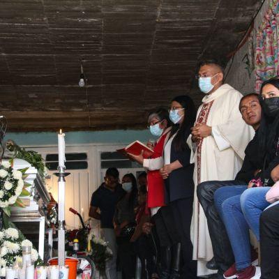 A Dilan le gustaba ir al kínder; hoy será sepultado junto a su madre tras morir en el Chiquihuite