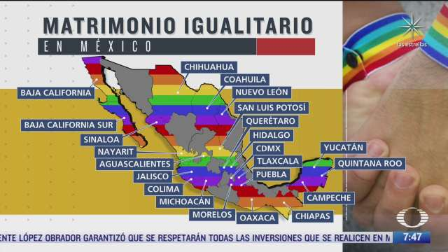 ademas de queretaro que estados de la republica mexicana han aprobado el matrimonio igualitario