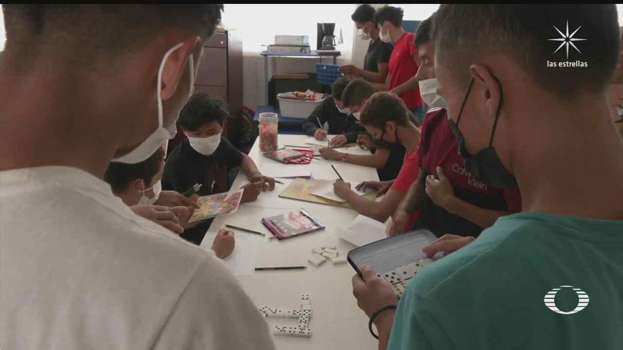 albergue en chiapas atiende a centenas de menores migrantes no acompanados