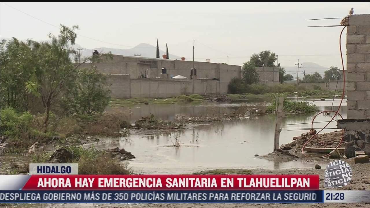 alertan por emergencia sanitaria en tlahuelilpan