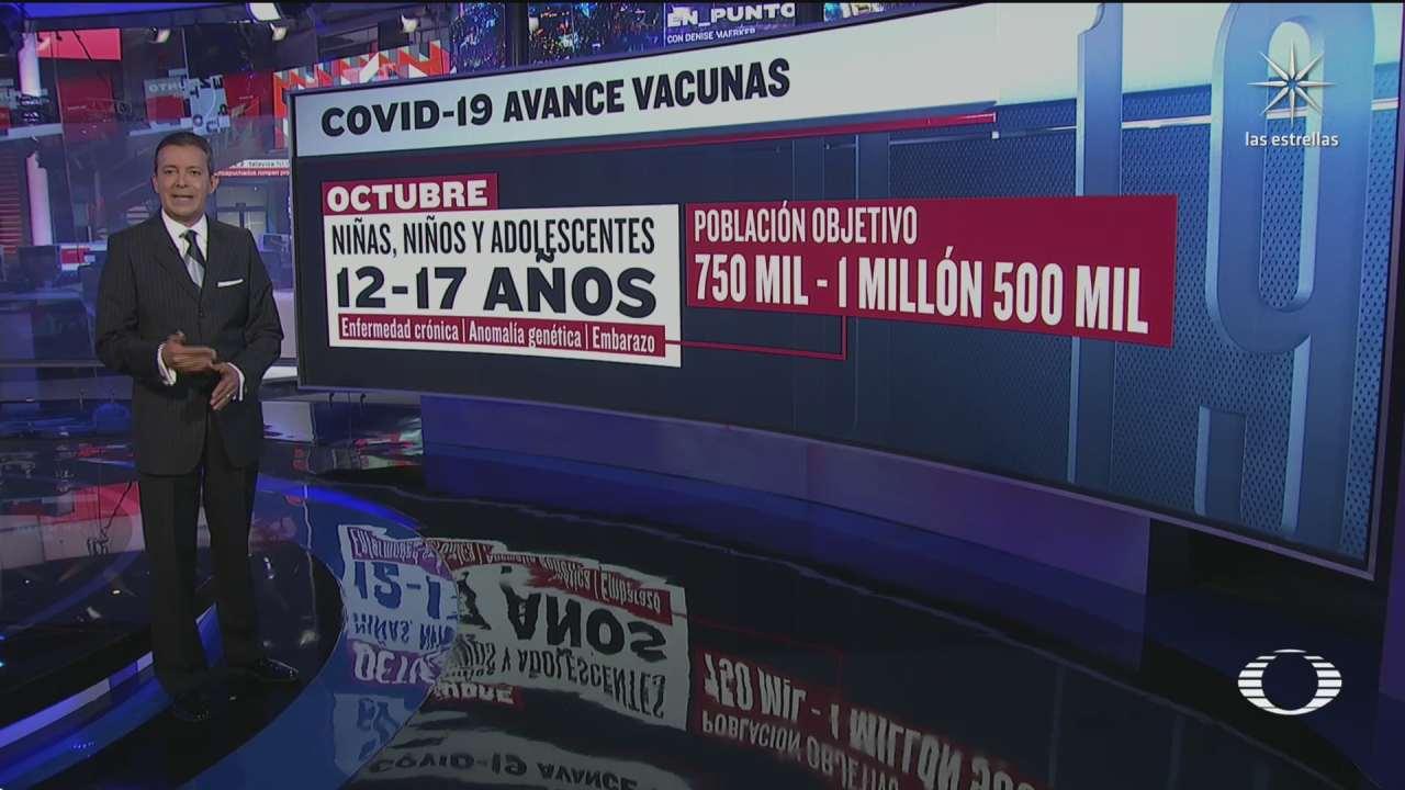 alistan plan de vacunacion para ninos con enfermedades cronicas
