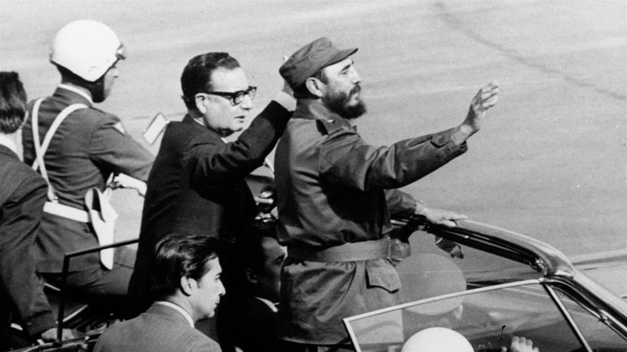 Salvador Allende, Chile, golpe de estado, Fidel Castro