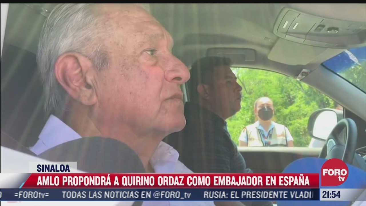 amlo anuncia propuesta para embajada en espana