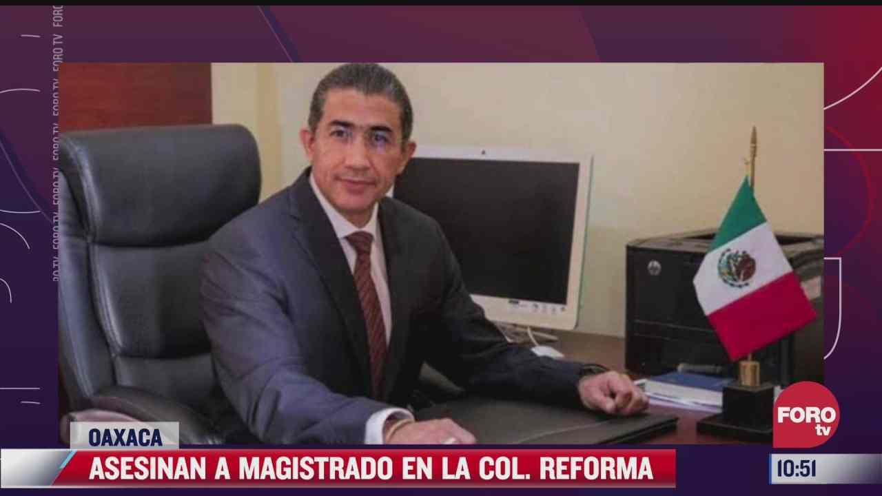 asesinan a magistrado enrique pacheco en oaxaca
