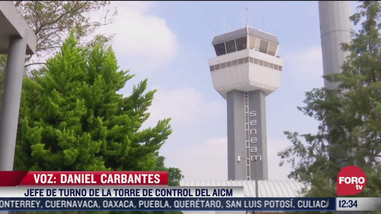 asi fueron los protocolos que siguio la torre de control del aicm en el sismo del 19 de septiembre de