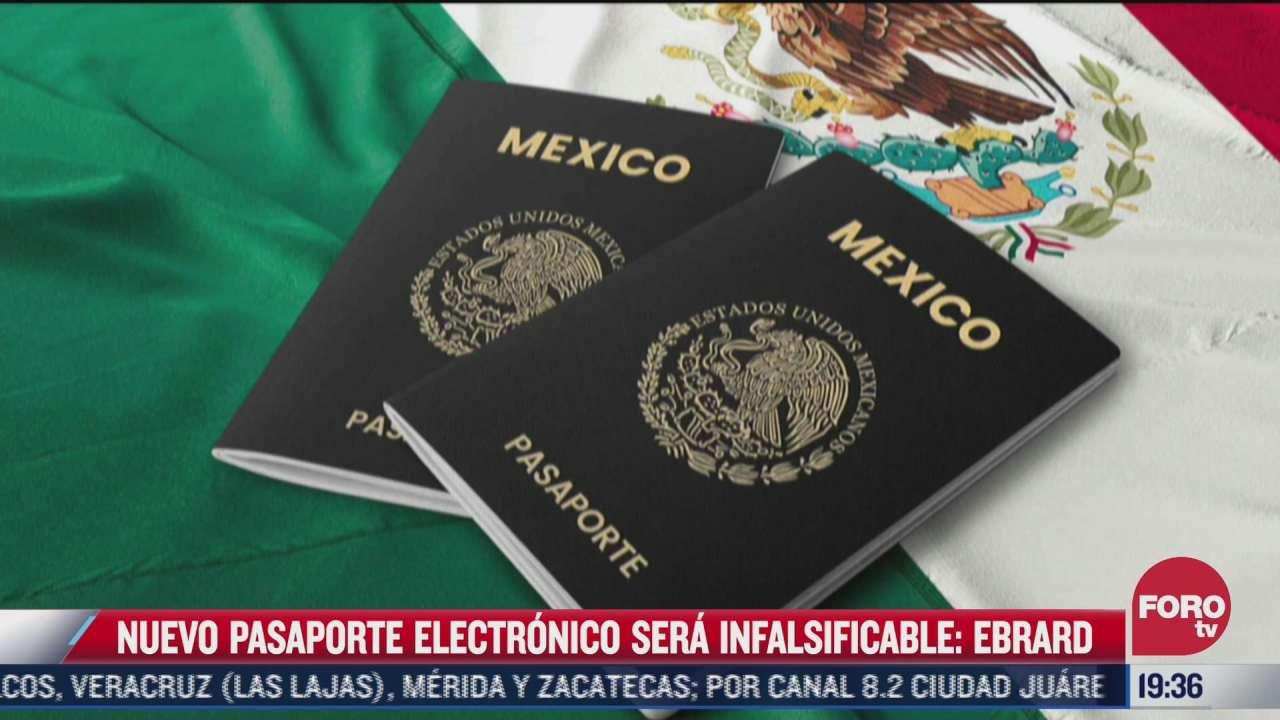 asi sera el nuevo pasaporte electronico mexicano