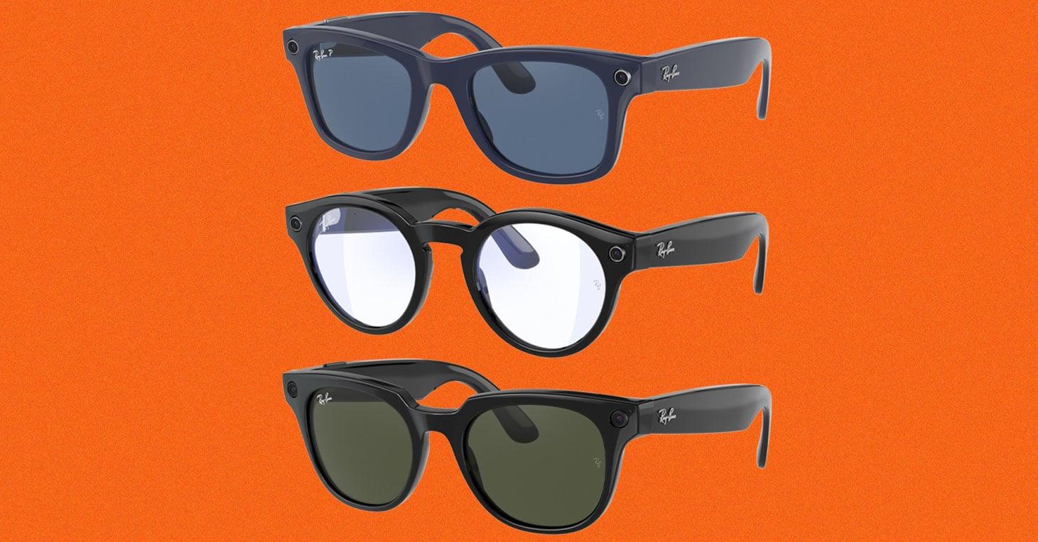 Así son los lentes inteligentes de Facebook y Ray Ban
